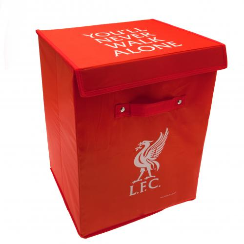 Baby Gift Baskets Liverpool : Liverpool fc storage box football gifts